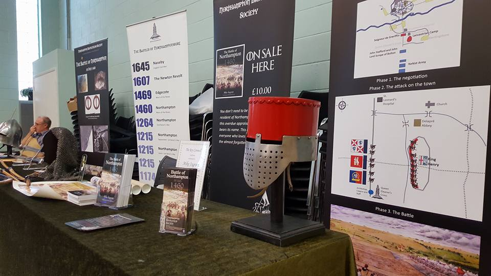 Exhibition Stand Northampton : About u northamptonshire battlefields society