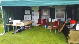 Northampton Battlefield Society stand