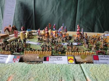 NBS Northampton Battlefield model