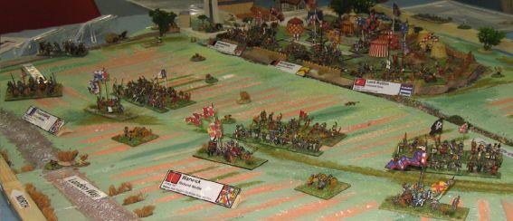 battlefield model